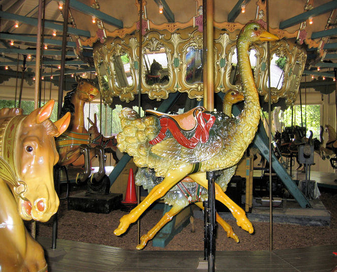 national carousel association - the pullen park carousel